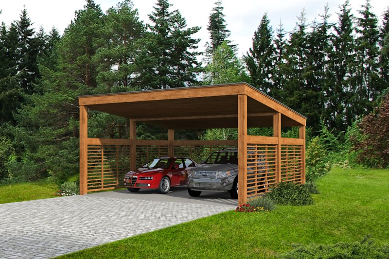 European Style House Plan - 0 Beds 0 Baths 440 Sq/Ft Plan #932-378