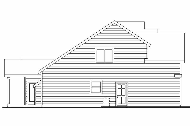 Craftsman Exterior - Other Elevation Plan #124-564 - Houseplans.com