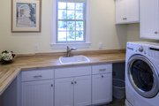 European Style House Plan - 4 Beds 3 Baths 2812 Sq/Ft Plan #929-877 Interior - Laundry