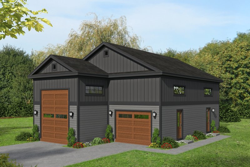 Home Plan - Country Exterior - Front Elevation Plan #932-74