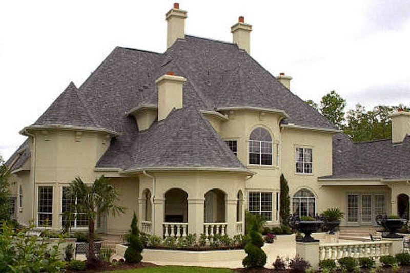 European Exterior - Other Elevation Plan #61-177 - Houseplans.com