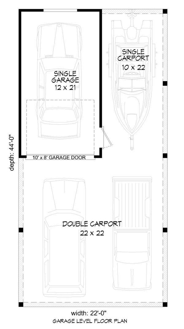 Traditional Floor Plan - Main Floor Plan #932-329