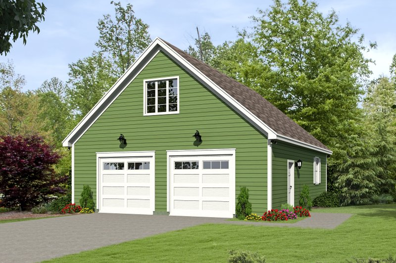 Dream House Plan - Country Exterior - Front Elevation Plan #932-132