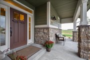 Craftsman Style House Plan - 4 Beds 3.5 Baths 2901 Sq/Ft Plan #1069-11 Exterior - Covered Porch