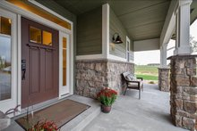 Craftsman Exterior - Covered Porch Plan #1069-11