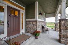 Dream House Plan - Craftsman Exterior - Covered Porch Plan #1069-11