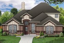 Dream House Plan - Traditional Exterior - Front Elevation Plan #84-458