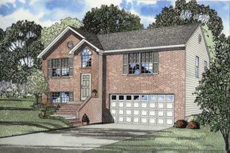 Dream House Plan - Southern Exterior - Front Elevation Plan #17-428