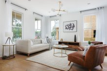 Craftsman Interior - Family Room Plan #461-73