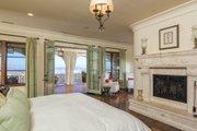 Mediterranean Style House Plan - 4 Beds 5 Baths 6860 Sq/Ft Plan #484-8 Interior - Master Bedroom