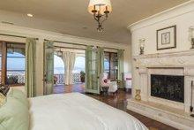 Architectural House Design - Mediterranean Interior - Master Bedroom Plan #484-8