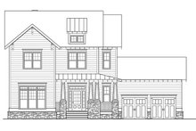 Craftsman Exterior - Front Elevation Plan #419-281