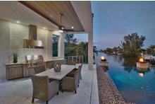 House Design - Contemporary Exterior - Outdoor Living Plan #930-20
