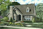 European Style House Plan - 3 Beds 2.5 Baths 2135 Sq/Ft Plan #17-640
