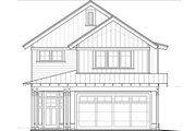Craftsman Style House Plan - 3 Beds 2.5 Baths 1737 Sq/Ft Plan #895-48 Exterior - Front Elevation