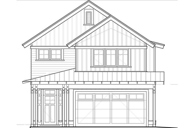 Dream House Plan - Craftsman Exterior - Front Elevation Plan #895-48