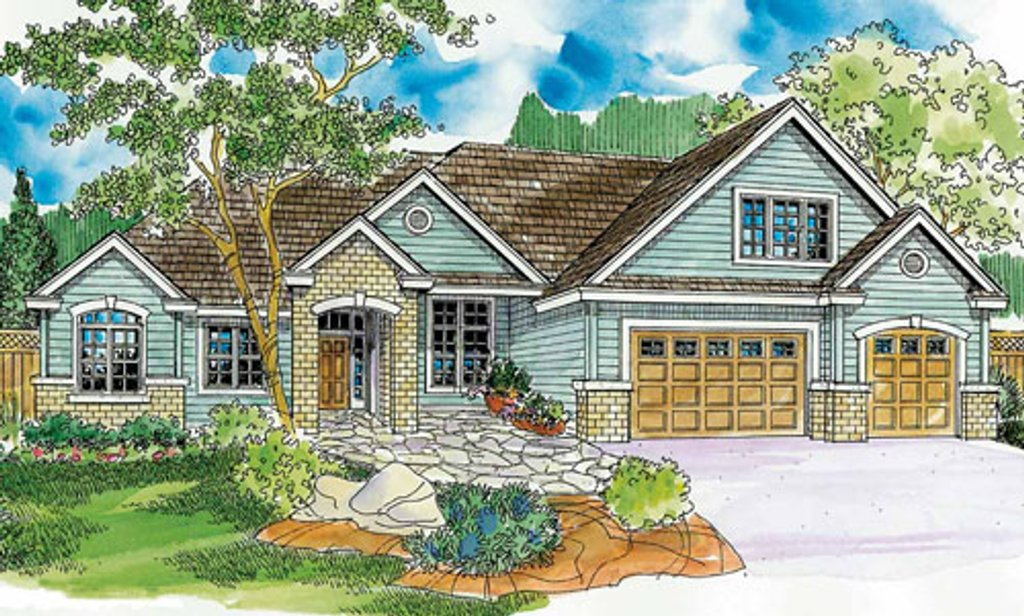 European style house plan 4 beds 4 baths 3369 sq ft plan for Craftsman style homes for sale in nh