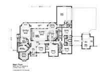 European Floor Plan - Main Floor Plan Plan #310-1305