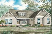 Farmhouse Style House Plan - 4 Beds 4 Baths 3016 Sq/Ft Plan #17-2313 Exterior - Front Elevation