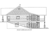 Cabin Style House Plan - 3 Beds 3 Baths 3864 Sq/Ft Plan #117-763