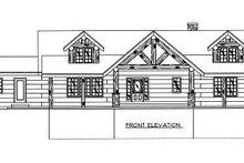 Log Exterior - Other Elevation Plan #117-506