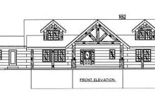 Home Plan - Log Exterior - Other Elevation Plan #117-506