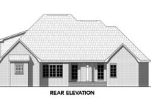 Dream House Plan - Traditional Exterior - Rear Elevation Plan #21-316