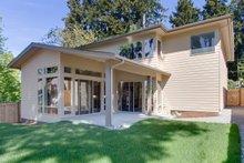 Home Plan - Modern Exterior - Rear Elevation Plan #132-225