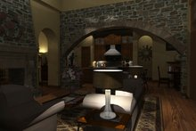House Plan Design - Mediterranean Photo Plan #120-163