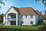 European Style House Plan - 4 Beds 4.5 Baths 4681 Sq/Ft Plan #20-2478
