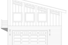 Home Plan - Contemporary Exterior - Other Elevation Plan #932-403
