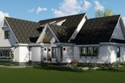 Farmhouse Style House Plan - 3 Beds 2.5 Baths 2148 Sq/Ft Plan #51-1142 Exterior - Other Elevation