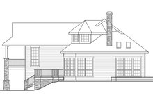 Country Exterior - Other Elevation Plan #124-917