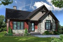 Home Plan - Craftsman Exterior - Front Elevation Plan #23-2666