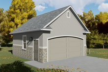 Architectural House Design - Traditional Exterior - Front Elevation Plan #1060-78