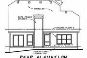 Craftsman Style House Plan - 3 Beds 2.5 Baths 1699 Sq/Ft Plan #20-2236