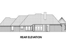 Dream House Plan - European Exterior - Rear Elevation Plan #84-491