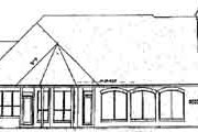 European Style House Plan - 4 Beds 4.5 Baths 4012 Sq/Ft Plan #52-179
