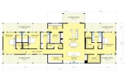 Ranch Style House Plan - 3 Beds 3.5 Baths 3478 Sq/Ft Plan #888-9 Floor Plan - Main Floor