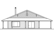 House Plan Design - Ranch Exterior - Other Elevation Plan #124-965