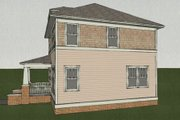 Craftsman Style House Plan - 3 Beds 2.5 Baths 1352 Sq/Ft Plan #461-5 Exterior - Other Elevation
