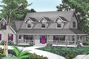 Traditional Style House Plan - 4 Beds 2.5 Baths 2487 Sq/Ft Plan #101-205 Exterior - Front Elevation
