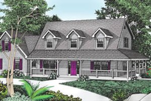 Traditional Exterior - Front Elevation Plan #101-205
