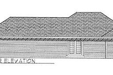 Traditional Exterior - Rear Elevation Plan #70-101