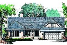 House Plan Design - Exterior - Front Elevation Plan #72-138