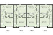 Traditional Style House Plan - 2 Beds 2 Baths 4212 Sq/Ft Plan #17-2467 Floor Plan - Upper Floor Plan