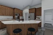 Traditional Style House Plan - 3 Beds 2 Baths 1972 Sq/Ft Plan #1060-45 Interior - Kitchen