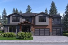 Architectural House Design - Traditional Exterior - Front Elevation Plan #1066-52