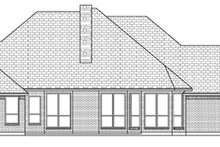 Dream House Plan - Traditional Exterior - Rear Elevation Plan #84-503