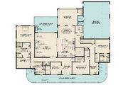 Southern Style House Plan - 3 Beds 3.5 Baths 4139 Sq/Ft Plan #923-84